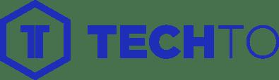 Techto logo blue