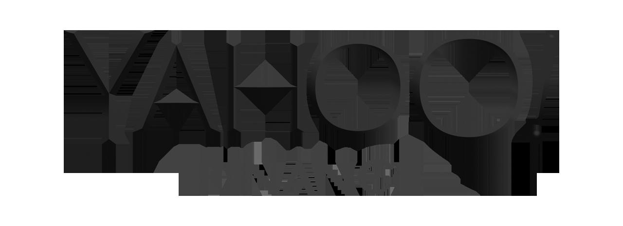 yahoo-finance-logo-bw